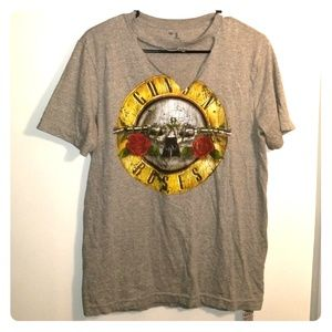 GUns and Rose's Oversized Tee